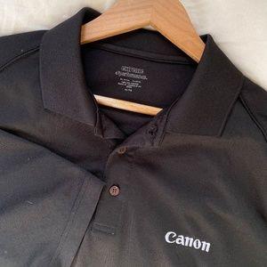 CANON Photography Logo Professional Polo Shirt XL